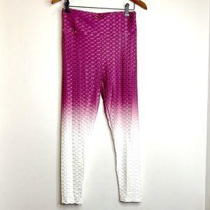 Ombre Honeycomb Leggings